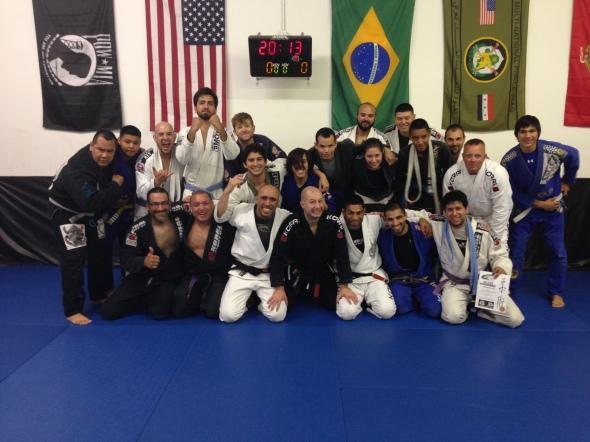 The return to the mothership! Tucson Brazilian Jiu Jitsu!