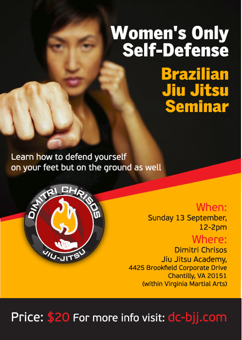 Women's Self Defense BJJ Seminar